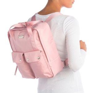 Madden Girl Women's Blush Pink Nylon Backpack
